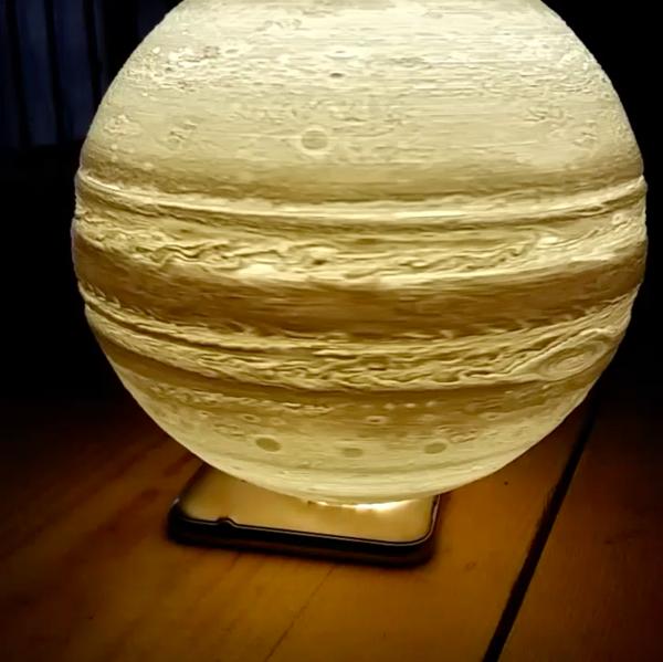 Portable 3D print creative novelty gift Earth