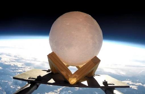 کره ماه از آسمان